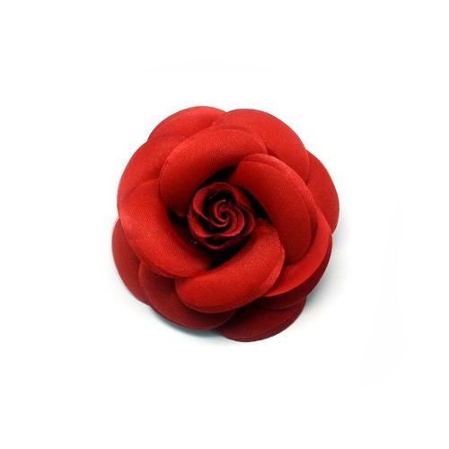라라라 408 장미 코사지 브로치, 빨강