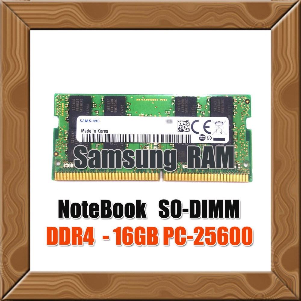 삼성전자 정품 노트북용 DDR4 16G PC4-25600 3 200Mhz RAM MEMORY, 삼성 정품 노트북용 DDR4 16G PC4-25600