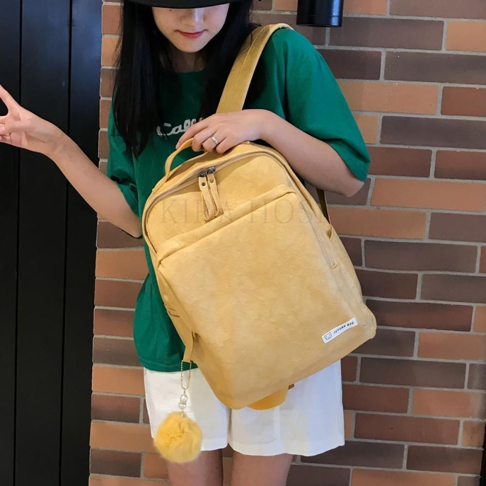 kirahosi 여성 가방 직장인 여성 백팩 가벼운여성백팩 캐주얼백팩 노트북백팩 U 150 +덧신 증정 AUszo4cp