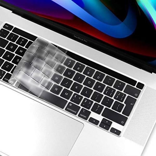 키보드 커버 스킨 스페셜 for 2020 2019 Apple 16 인치 MacBook Pro 모델 A2141 Esc 키 및 터치 바 터치 ID, 단일상품, 단일상품