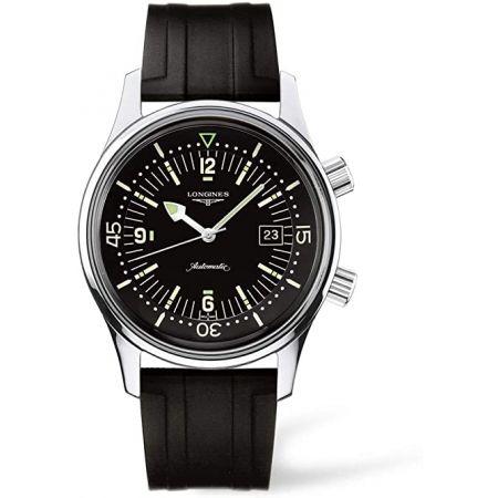 [론진] 시계 론진 레전드 다이버 오토매틱 L3.674.4.50.9 남성 정식 수입품 블랙 9999993338584