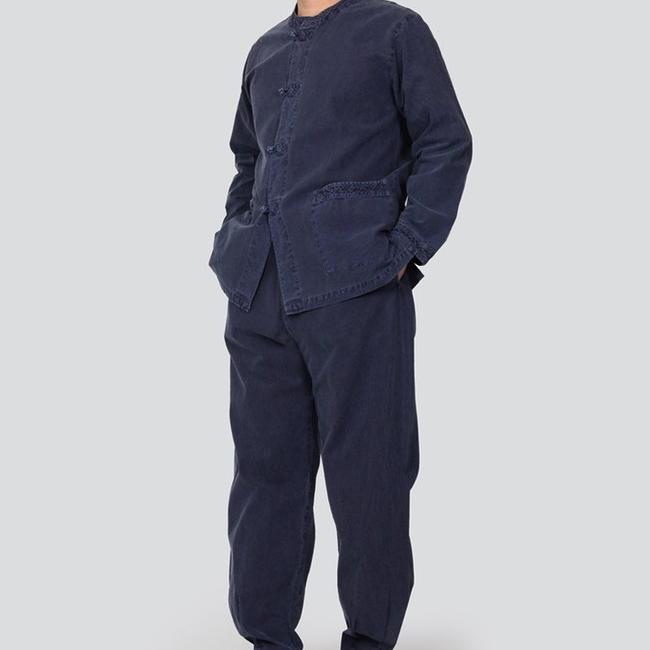 단아한의 남성 여성 개량한복 생활한복 법복 절복 면20수 웨하스세트 생활한복(개량한복)