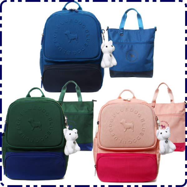 [현대백화점][블루독아동 키즈2]블루독블럭 책가방 보조가방세트(2197083301∼3 835)초등학생 가방 신학기
