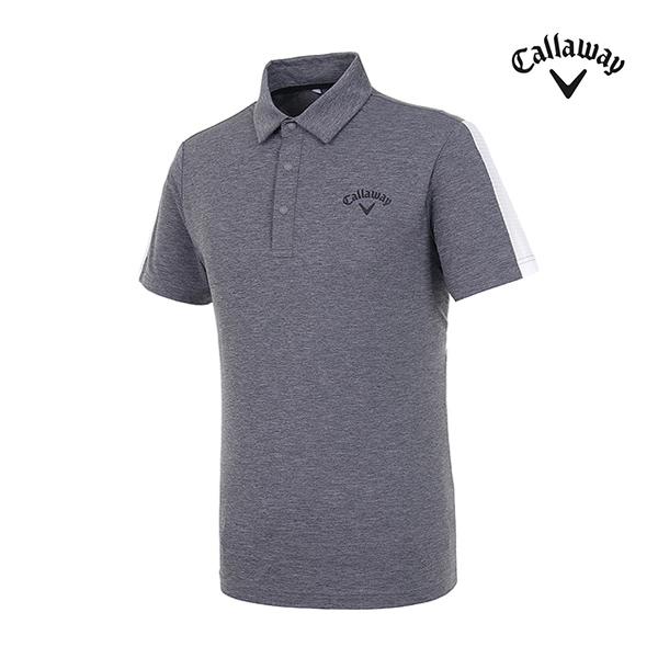 [캘러웨이]남성 펀칭 메쉬 반팔 티셔츠 CMTYI2144-193_G