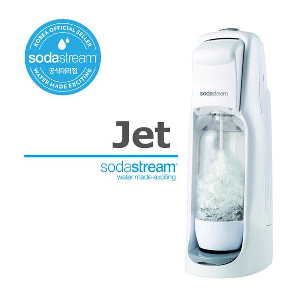 소다스트림 탄산수 제조기 소다수제조기 기계 탄산 실린더 전용병 소다수 탄산음료 만들기, 1개, 흰색sodastream