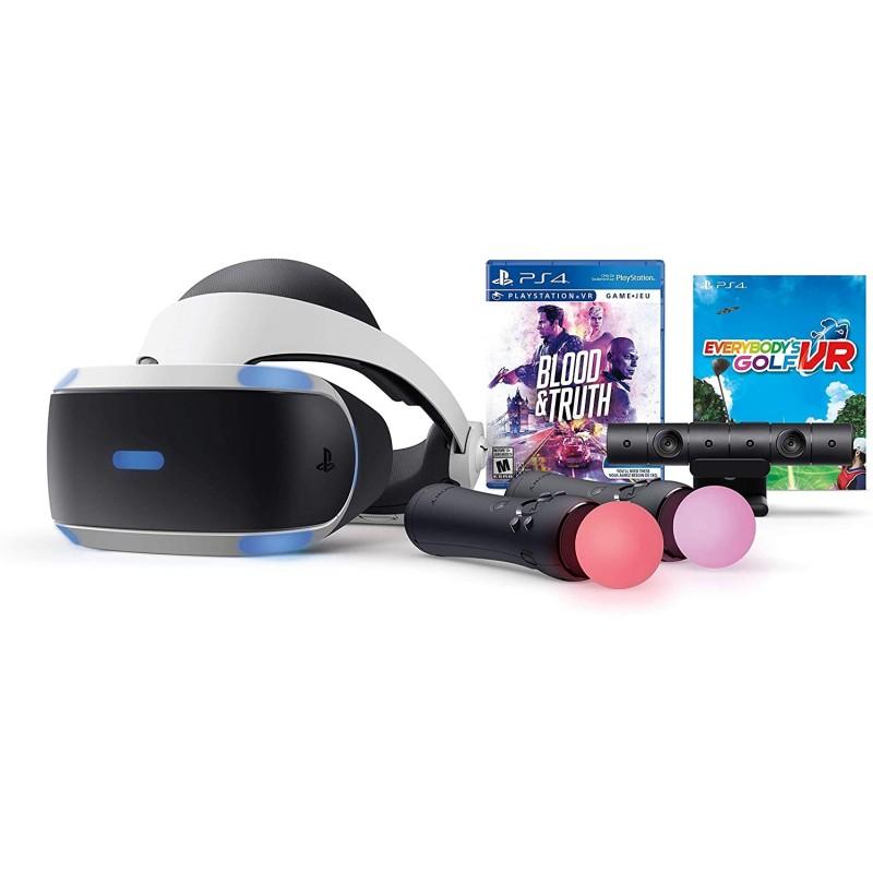 플레이스테이션 VR - Mega Blood + Truth Everybodys 골프 번들, 단일옵션