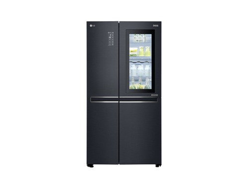 LG DIOS 디오스 노크온 매직스페이스 2도어 냉장고 636L (맨해튼 미드나잇) S631MC75Q (전국빠른배송)