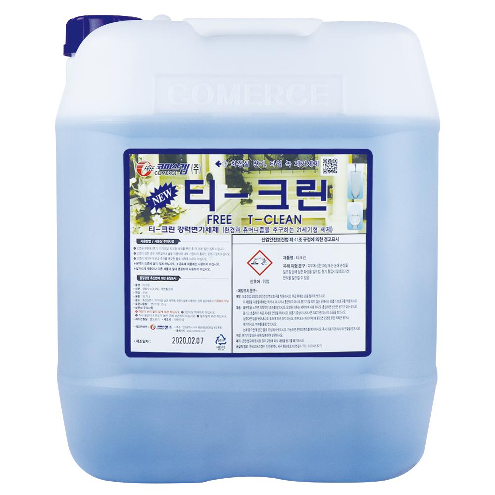 코머스켐 티크린 18.75 변기 화장실 전용 강력 세정제, 1개, 18.75L