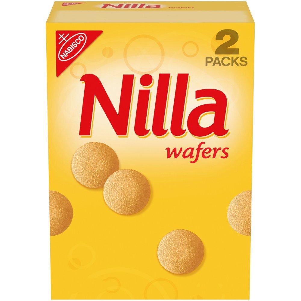 닐라 와퍼 바닐라 와퍼 웨이퍼 쿠키 850g (2개입) Nilla Wafers Vanilla Wafer Cookies 850g (2 Counts), 단일상품
