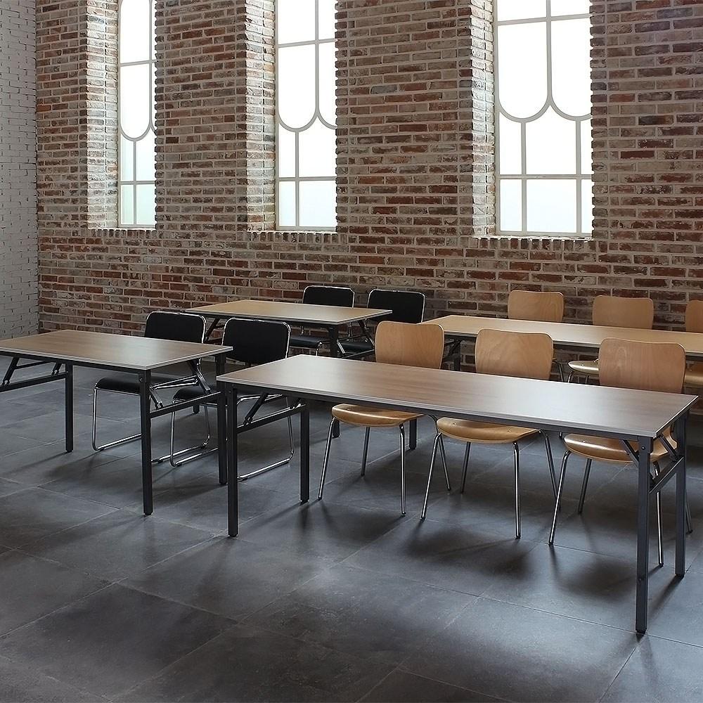 파미가구 스트롱 접이식 테이블 책상 학생책상 사무용책상, 800x400
