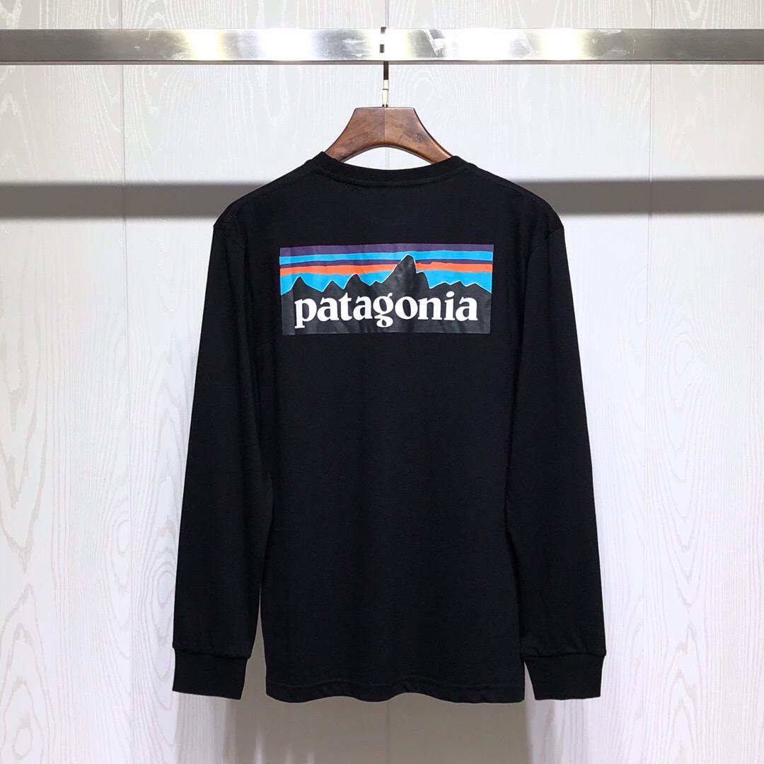 일본 리미티드 에디션 프린트 박시한 산맥 바타 BEAMS 라운드 긴팔 티셔츠 SWY100102