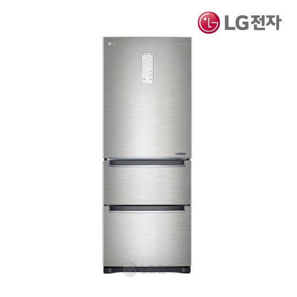 LG전자 LG DIOS 김치냉장고 K338NS15E 샤이니루체 (327L) 스탠드형 3도어