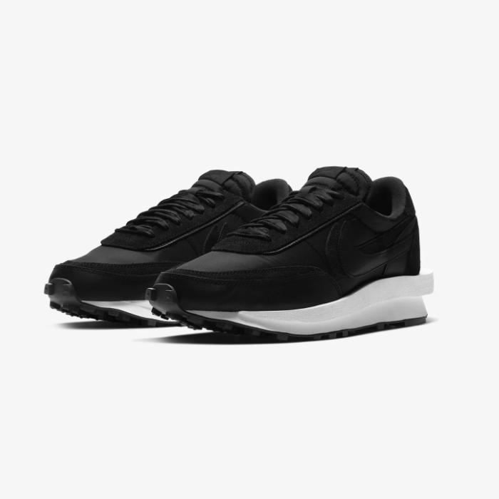 나이키 사카이 X LD 와플 블랙 나일론 안트라사이트 SACAI Nike WAFFLE BLACK NYLON BV0073-002 알앤제이 ALANDJAY