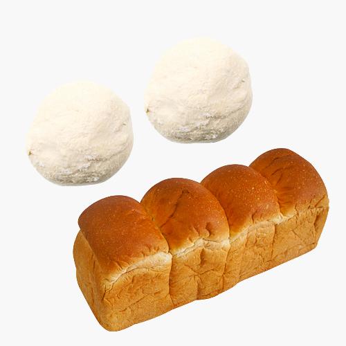 카페노리 냉동생지 - 우유식빵 (200Gx10개), 10개입, 200g
