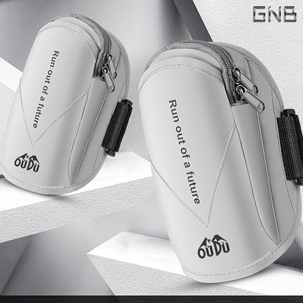 갤럭시노트10/10+ 5G 방수형 스포츠 런닝 암밴드, 화이트, 1개