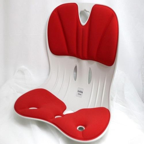 [특허받은의자] 2020년형 NEW 에이블루 커블체어 와이더 레드, 레드체어 1개