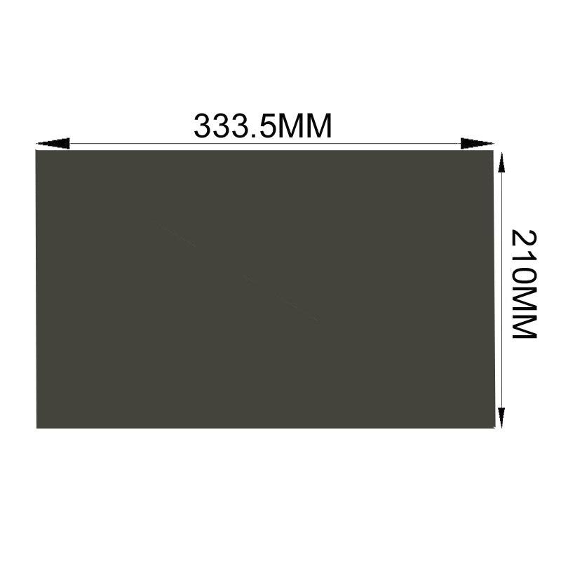 사무실에서 사생활 보호 보안 배송 10 개 15.4inch 135degree 모니터 접착제 편광 필름 시트 노트북