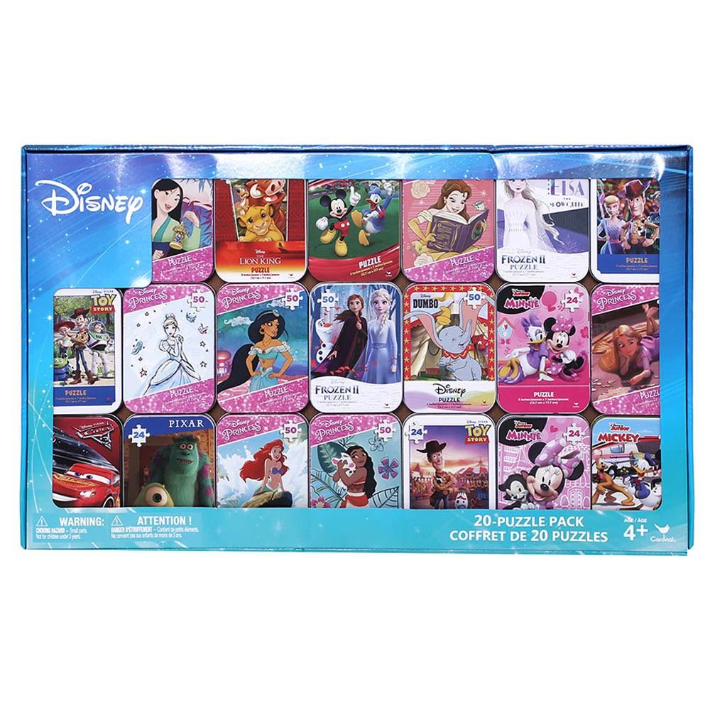 코스트코 디즈니 틴케이스 퍼즐