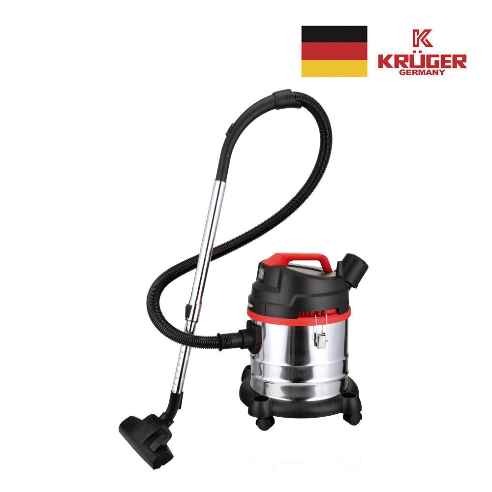 독일 크루거 업소용 건습식 진공청소기 KRC-2023R / 23L