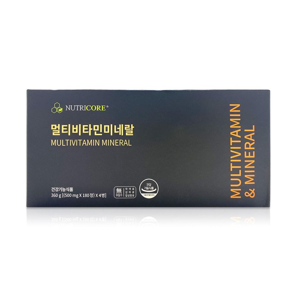 뉴트리코어 멀티비타민 미네랄 500mg x 180정 4병 /Neo, 단품, 단품