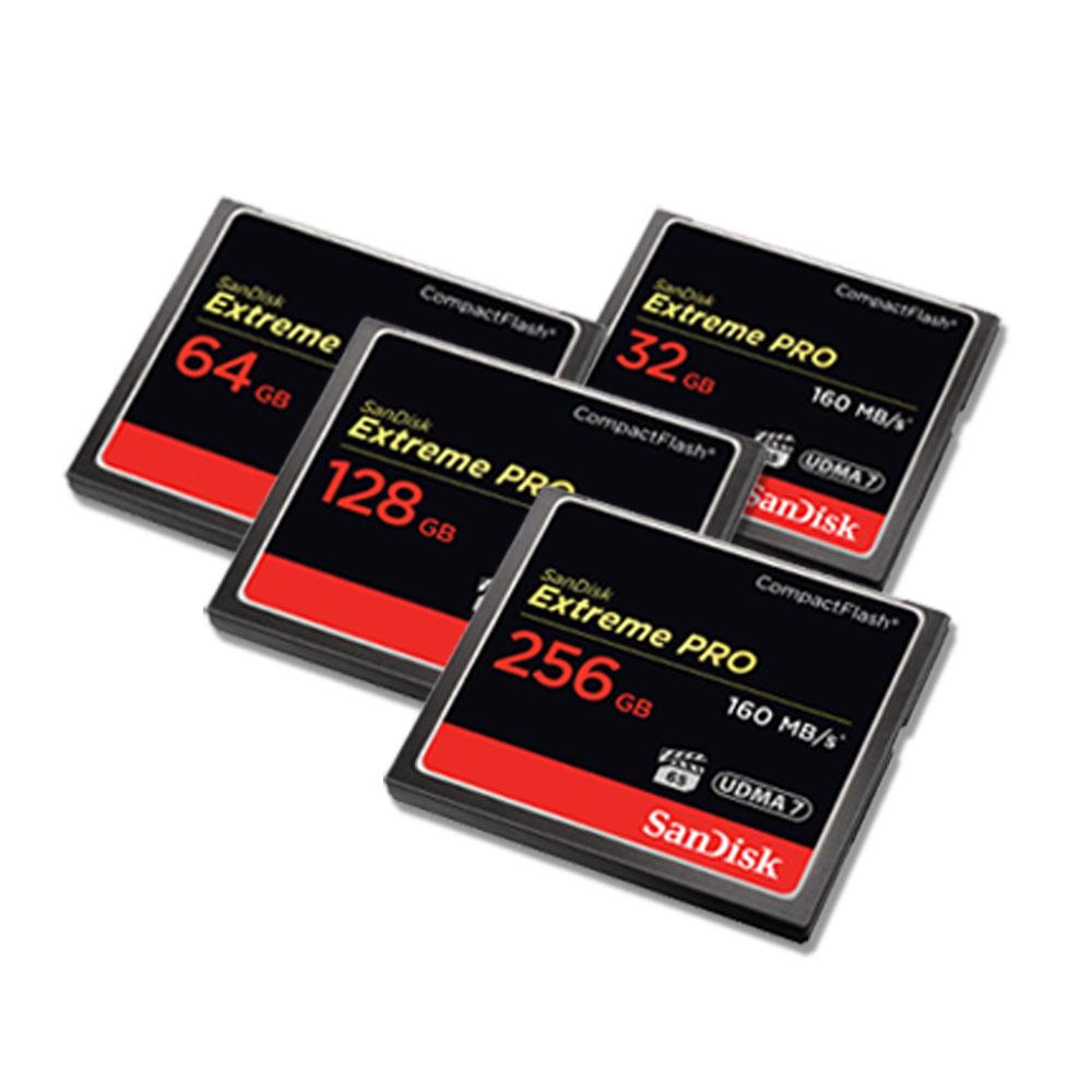 샌디스크 익스트림 프로 CF 메모리 카드 SDCFXPS, 128GB