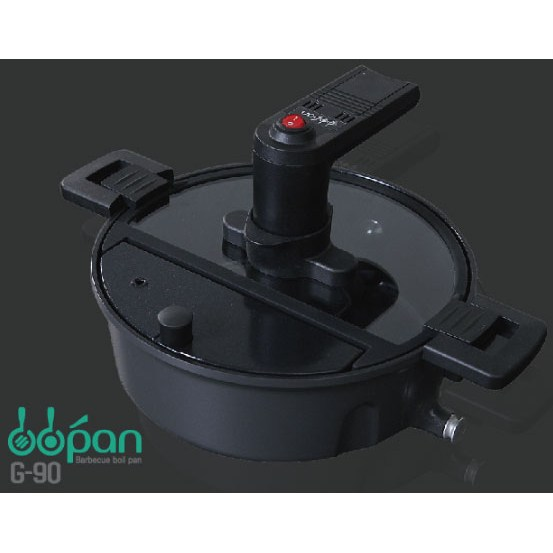 [비비팬(bbpan)] 자동회전냄비 G-90 (인덕션가능 최신형) / 회전속도 강화 / 기름배출구 추가