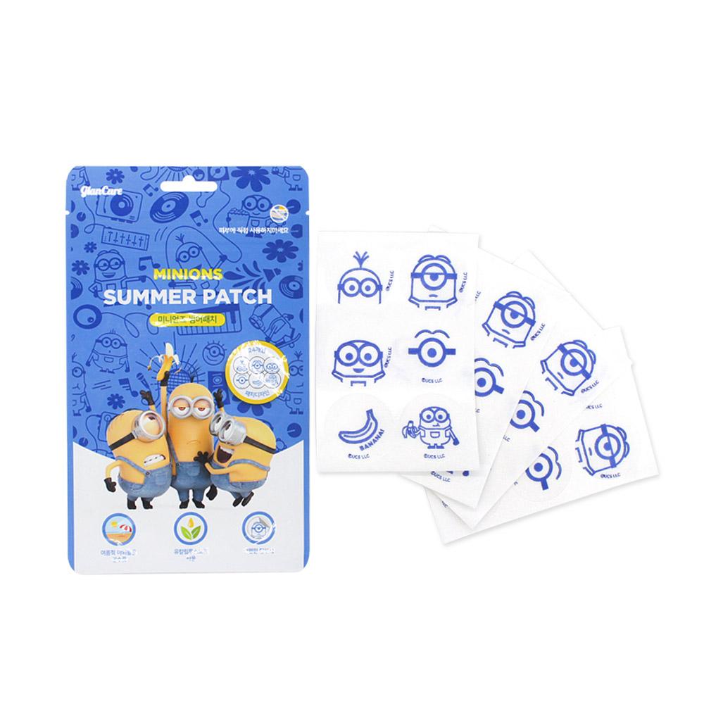 미니언즈 신상품 썸머패치 24개입 5팩 특판, 1세트