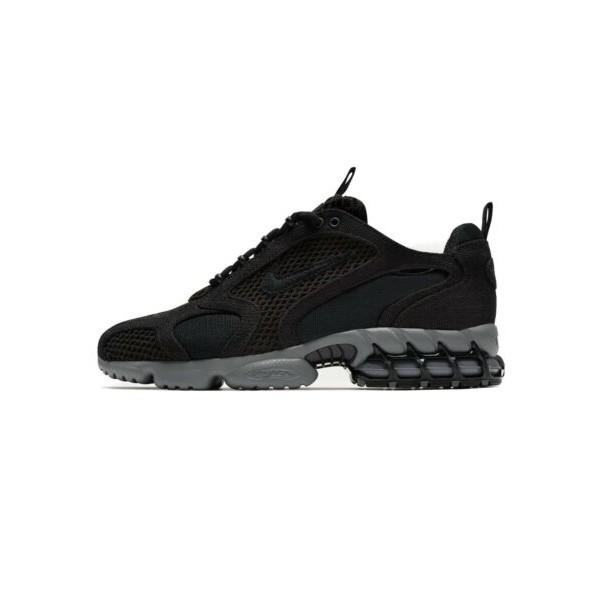 Nike x Stussy Air Zoom Spiridon Cage 2 블랙 Cool 그레이 Size US 8