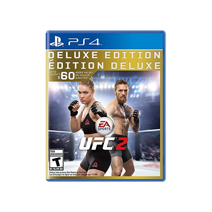 Electronic Arts (World) EA Sports UFC 2 (Deluxe Edition) (수입 판 : 북미) - PS4, 자세한 내용은 참조