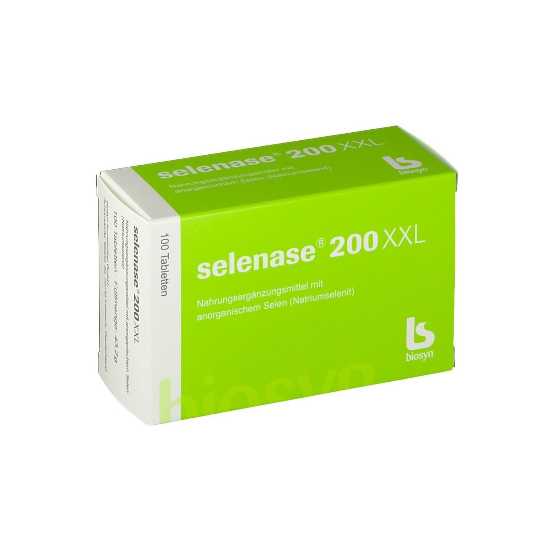 [독일배송] biosyn selenase 셀레나제 200xxl 100정, 1개