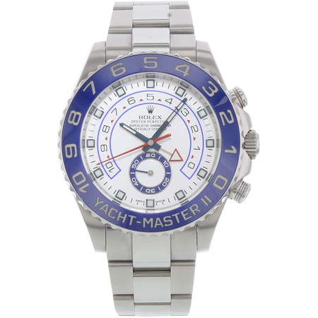 Rolex Yacht Master II White Dial Blue Bezel Stainless Steel Automatic Mens Watch 116680WAO PROD80004
