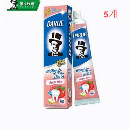 DARLIE 달리치약 산뜻사과향 치약 140gX5개 세트, 5개, 140g