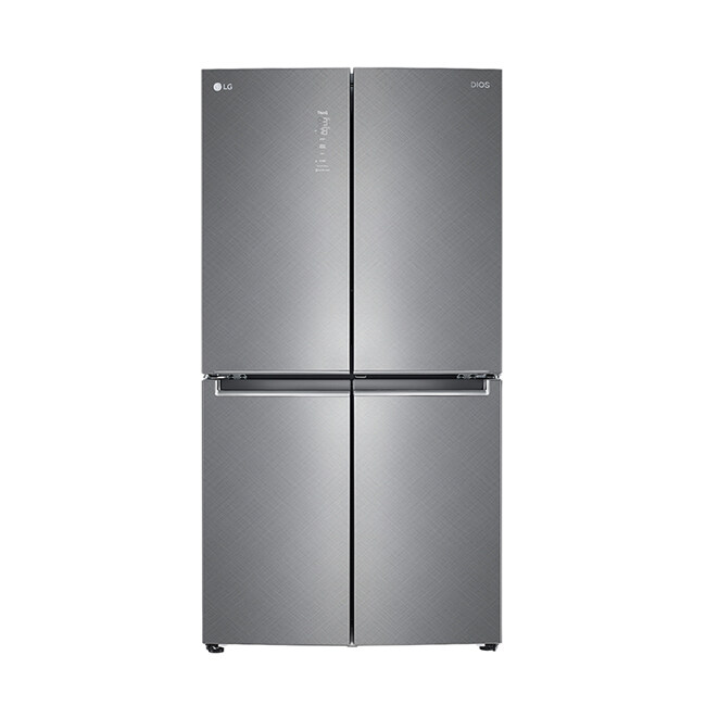 [신세계TV쇼핑][LG] 디오스 4도어 870L 냉장고 F873SN35E, 단일상품