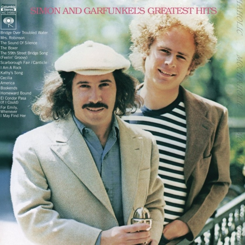 사이먼앤가펑클 LP 판 레코드 베스트 곡 모음 앨범 Simon & Garfunkel Greatest Hits Vinyl
