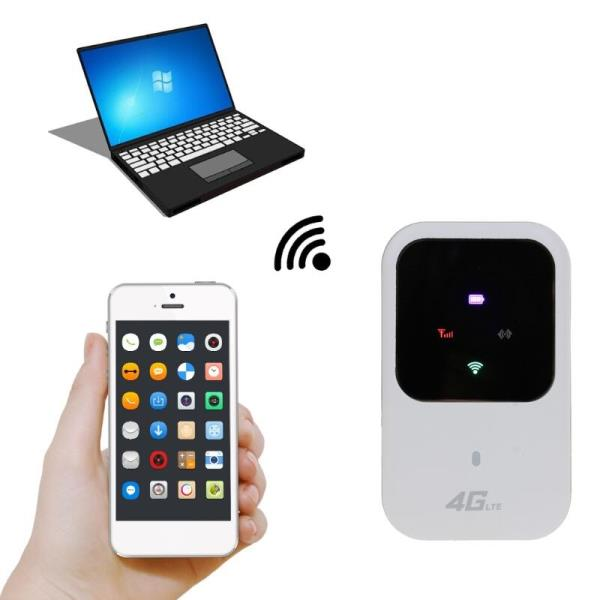 잠금 해제 4G 와이파이 라우터 3G 4G Lte 휴대용 무선 포켓 와이파이 모바일 핫스팟 자동차 와이파이 라우, 한개옵션0