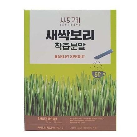쌍계 새싹보리 착즙분말, 1g x 50스틱