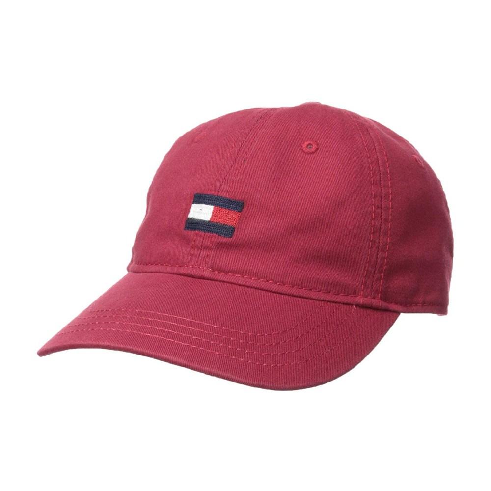 타미힐피거 Ardin Dad Hat 로고 모자 타미 레드