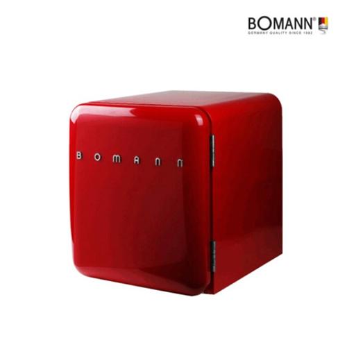 [보만] 레트로 냉장고 44L 레드에디션(냉장전용 /에너지효율: 1등 / 선반1개 / 높이조절다리 / 크기(가로x세로x깊이): 500x498x430mm/
