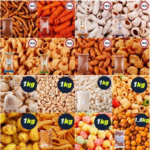 (무배) 대용량 과자 쿠키 비스킷 옛날과자 인간사료 40종, 29_G168_우리식품 참맛콘 1kg, 선택