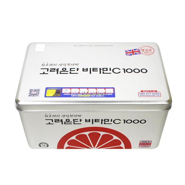 고려은단 비타민C 1000 600정 1박스, 단일상품