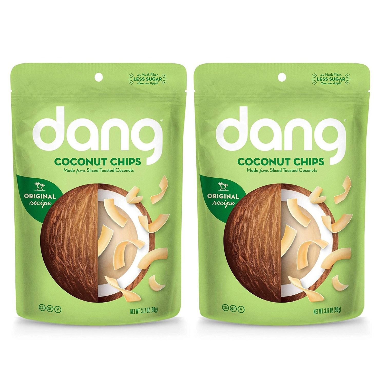 댕 토스티드 코코넛 칩 오리지널, 2개, 90g