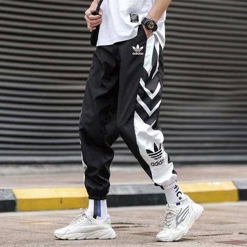 해외 남녀공용 아디다스 스포츠웨어 오리지날 트레포일 조거팬츠 슬림팬츠 트랙팬츠 아디다스 아디다스 클로버 캐주얼 팬츠 남성 트렌드 루즈 럭 구매