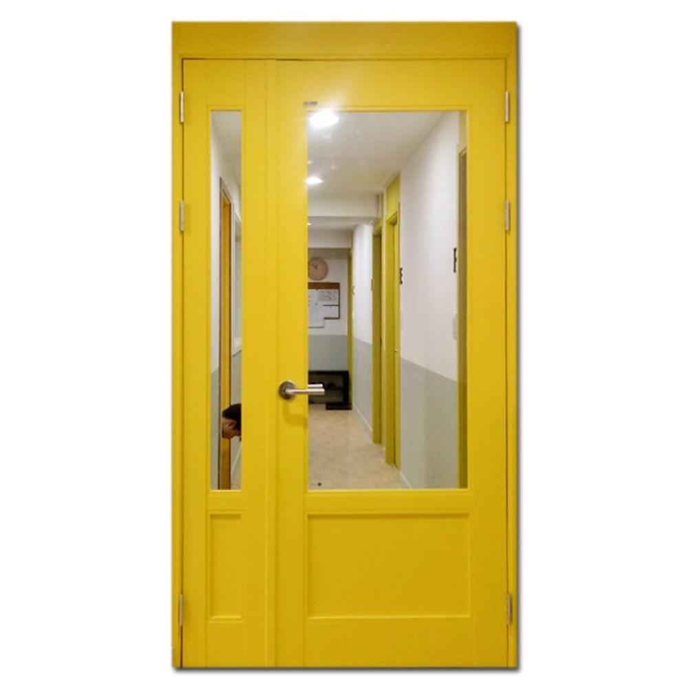 애드도어 비대칭양개 여닫이 현관중문 양개도어 1400, 1조