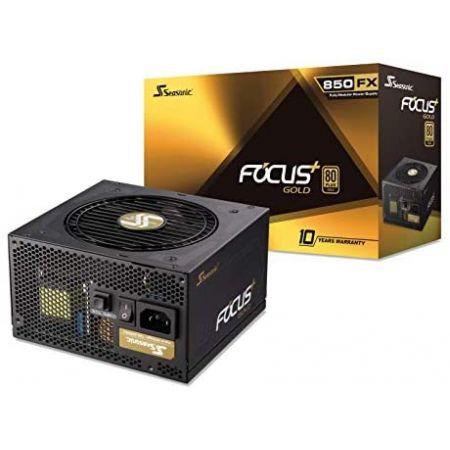 Seasonic FOCUS Plus 850 Gold SSR-850FX 850W 80+ Gold ATX12V EPS12V Full Modular 120mm FDB Fan 10 Ye, 상세 설명 참조0