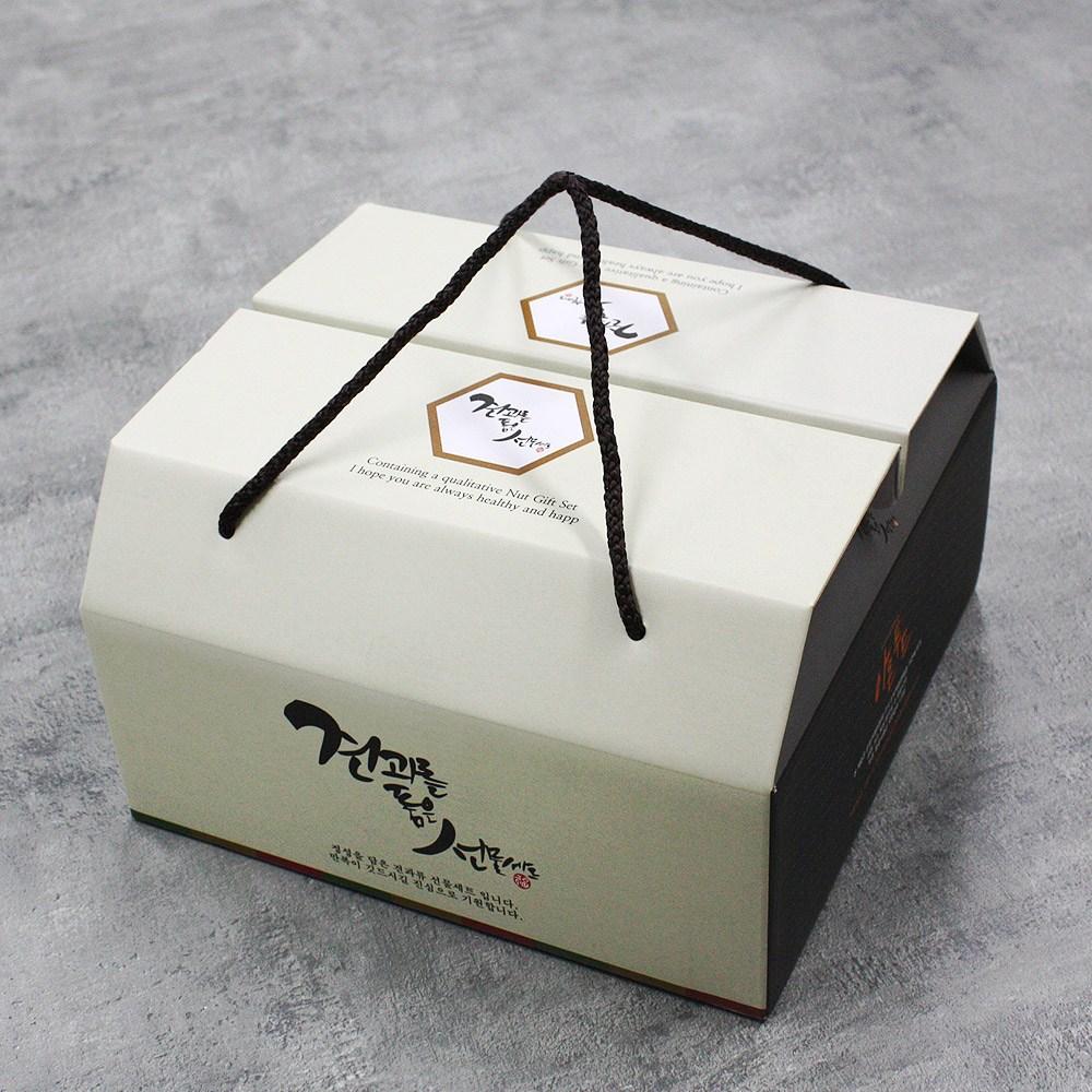 아몬푸드 견과류 선물세트 1호 탄탄커피땅콩바나나칩 1세트