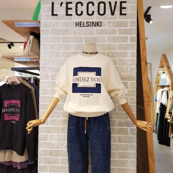 레코브 맨투맨 랑데뷰 티셔츠(LW410XLT049P)