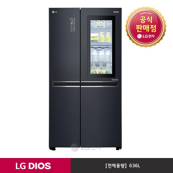 LG전자 DIOS 노크온 매직스페이스 냉장고 S631MC75Q