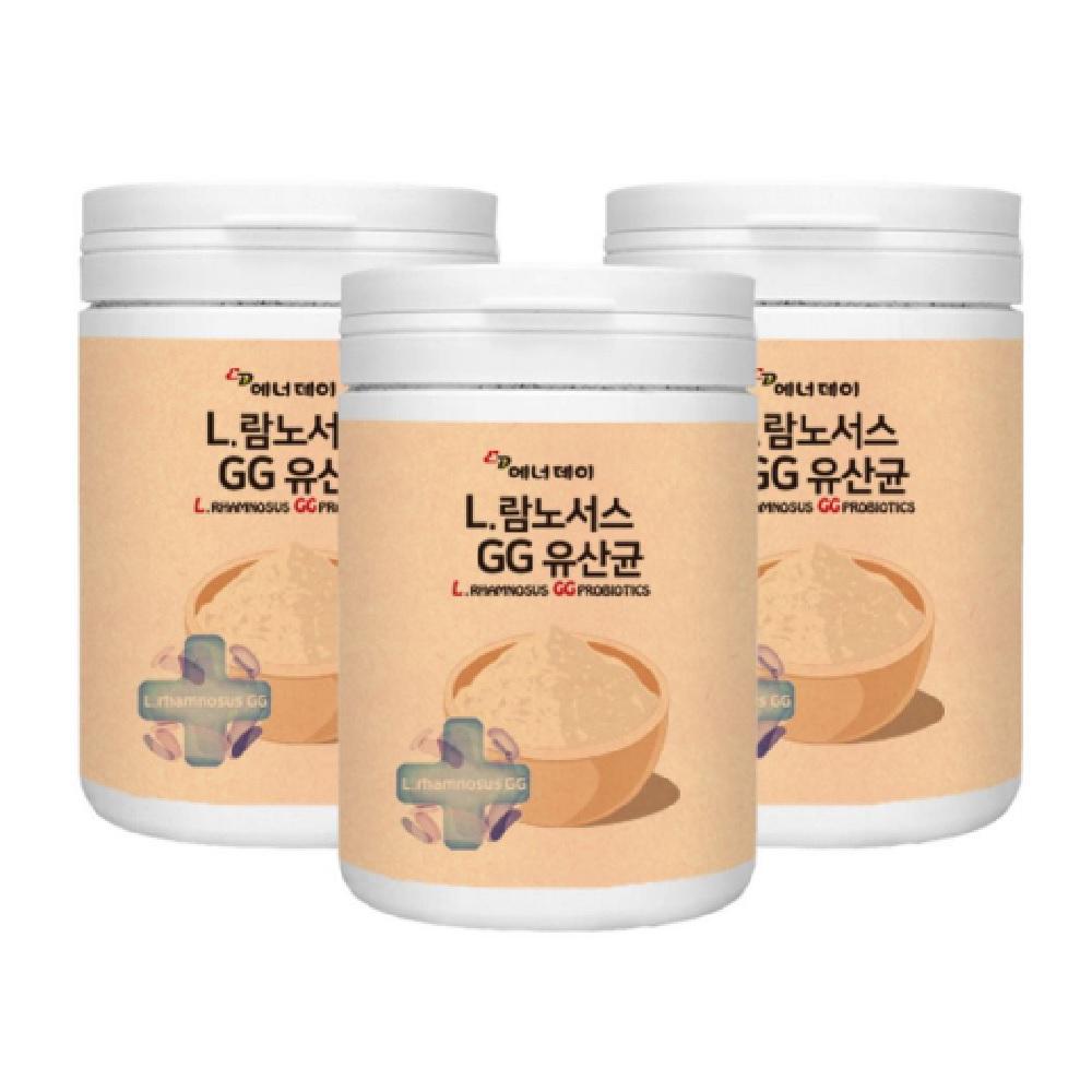 에너데이 L람노서스GG유산균 230gx3병 백억유산균 국민유산균 유산균방귀 장이안좋을때증상 장에안좋은음식 젖산균 어른유산균