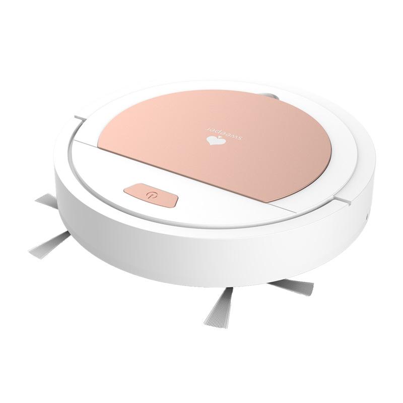로봇청소기 가정용 스마트 전자동 바닥닦기 쓸고흡수 일체형 흡입청소기 얇고작은스타일 매직, T01-피아노화이트