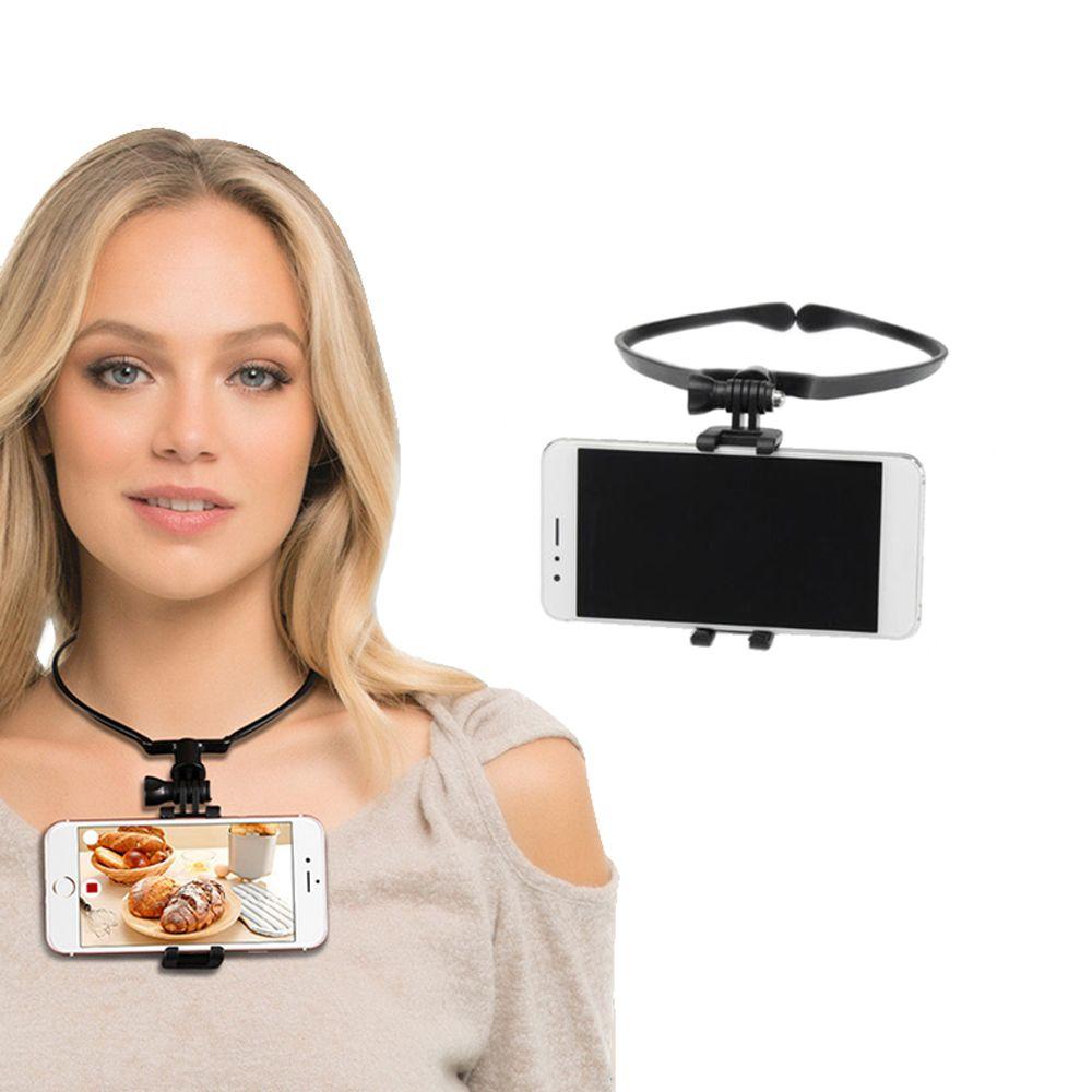 (JALNAGA)-W4C 스마트폰 목 넥 마운트 유튜브 인스타 개인 방송 리뷰 1인방송 유튜브 손글씨, 쿠팡 1, 쿠팡 본상품선택